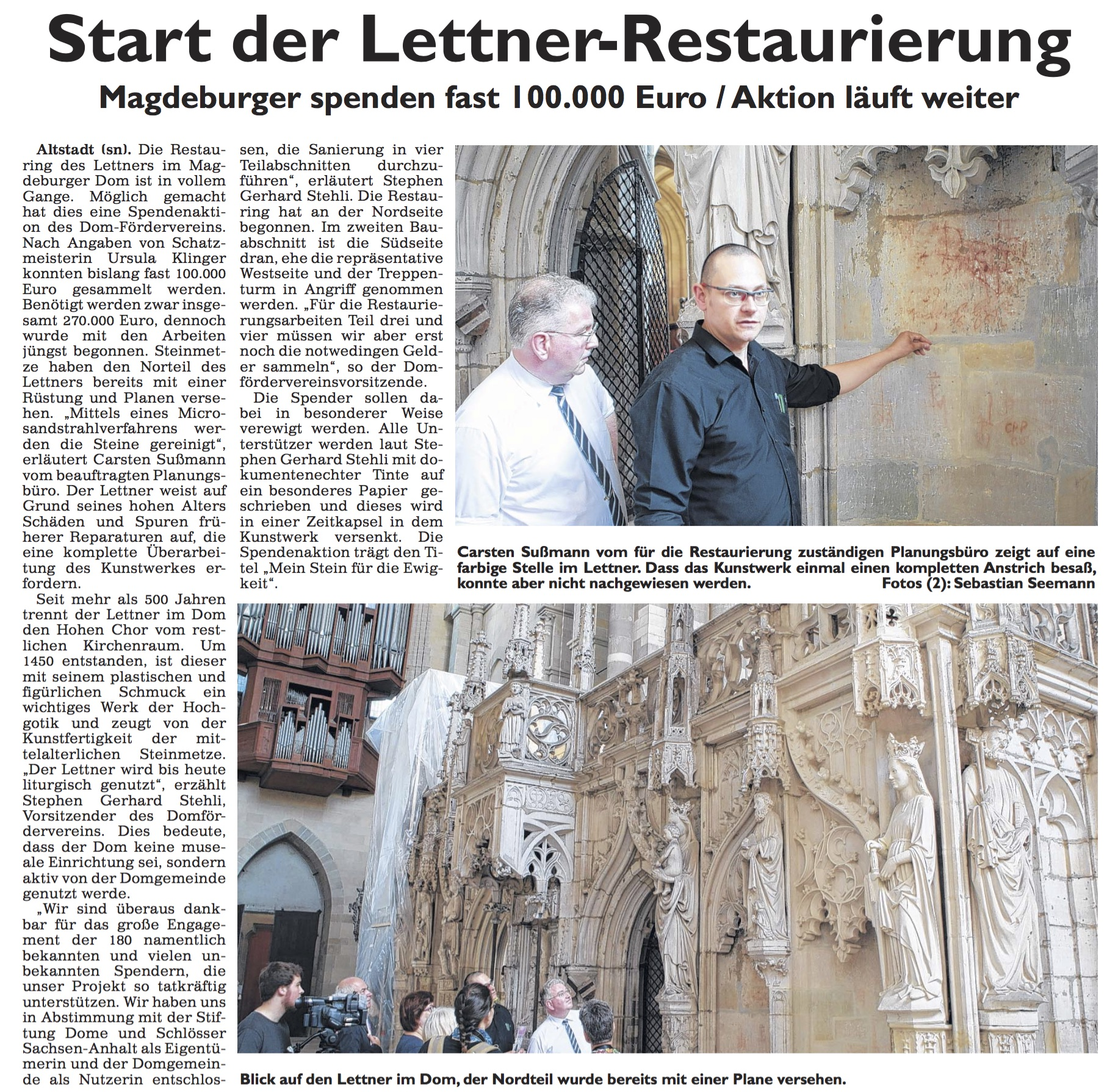 Generalanzeiger Magdeburg - 26.06.2016