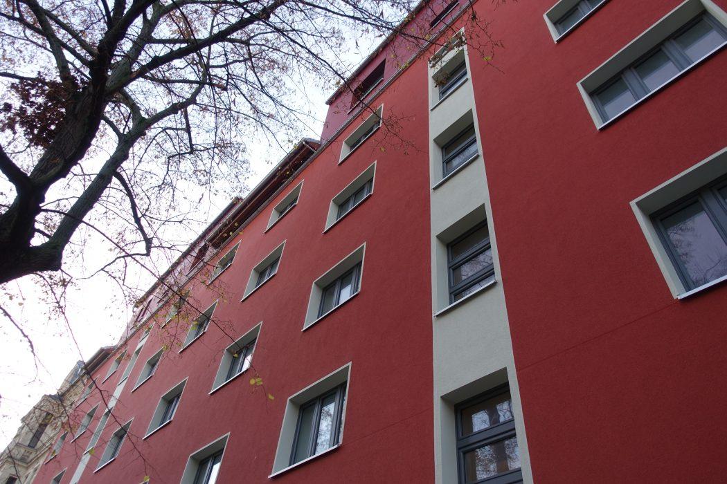 Olvenstedter Straße, Umbau Mehrfamilienhaus, Sanierung