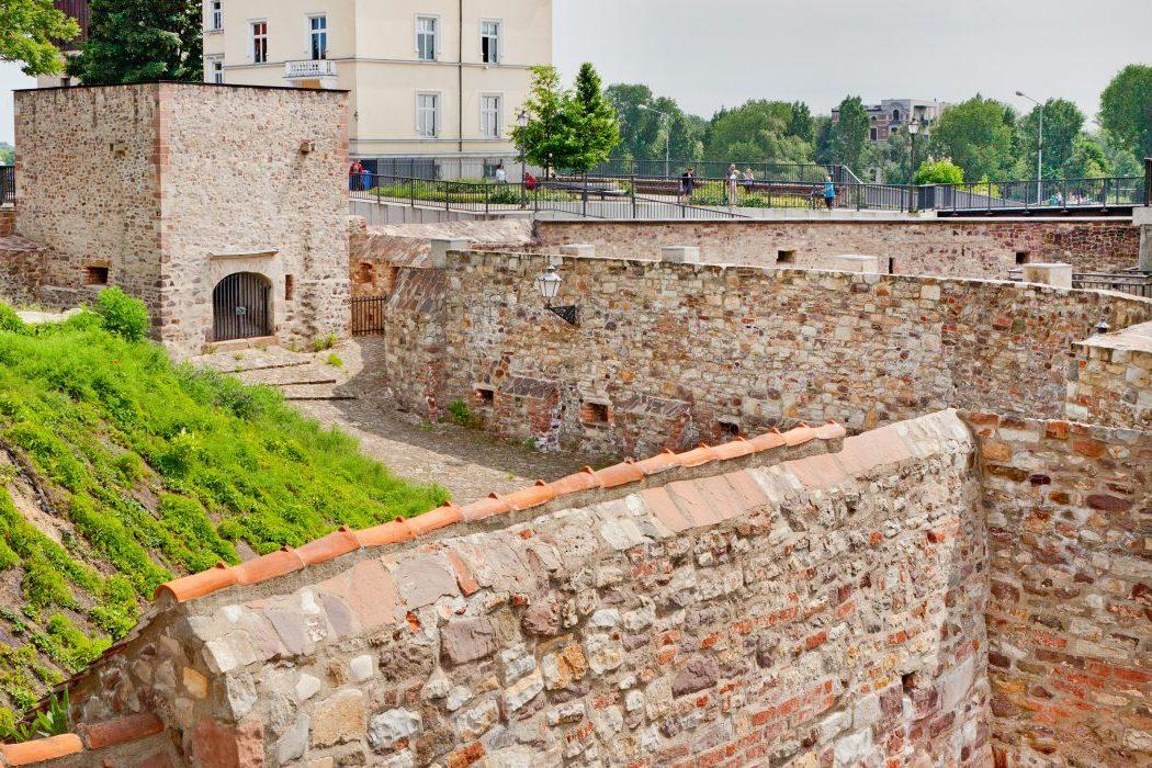 Die Bastion Cleve in Magdeburg, Nähe Magdeburger Dom, Sußmann Architektur