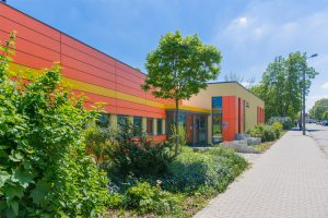 Kindergarten Kuschelhaus Magdeburg von außen – Sußmann Architektur